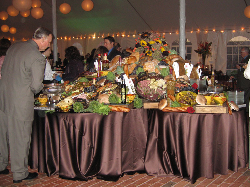 Extravagant Buffet Table