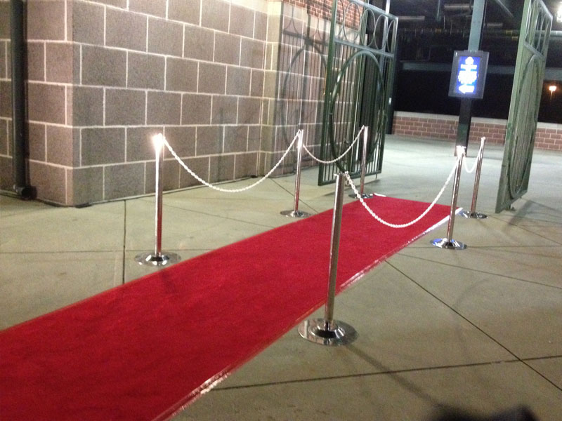 Red Carpet and Ropes