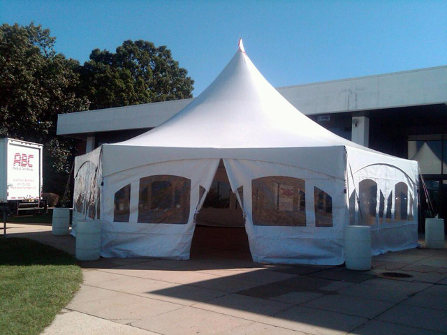 NASA Goddard Hexagon Tent