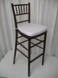Rental store for BAR STOOL CHIAVARI FRUITWOOD in Baltimore MD