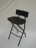 Where to rent BAR STOOL FOLDING BLACK in Baltimore MD