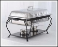 Where to rent CHAFER HAMMERED RECTANGLE 8QT in Baltimore MD