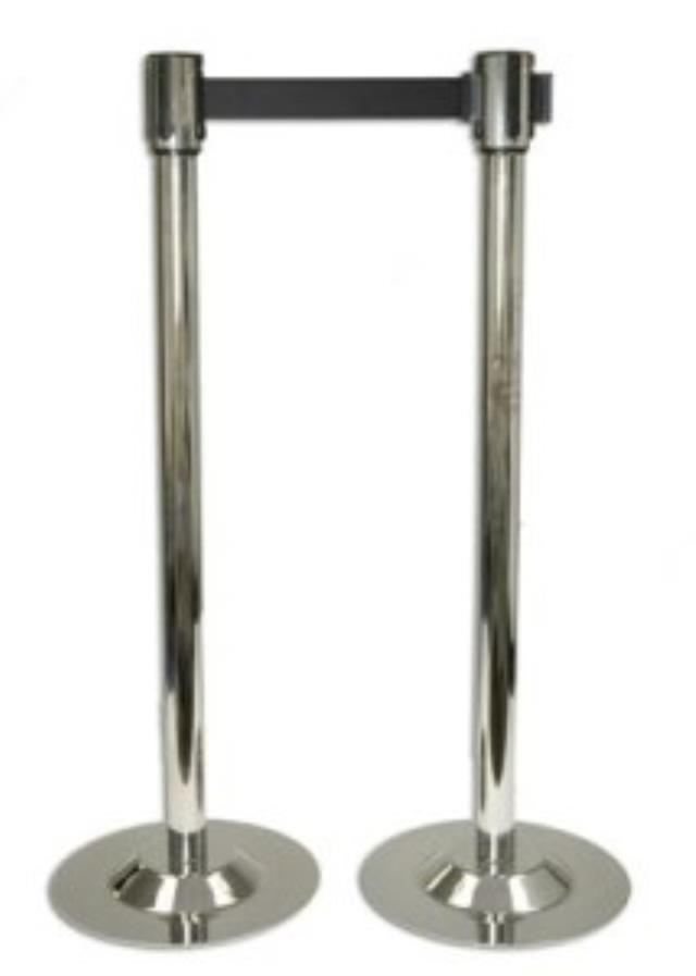 Where to rent STANCHION CHROME W RETRACTABLE BELT in Baltimore Maryland, Washington DC, Columbia MD, Westminster, Annapolis MD