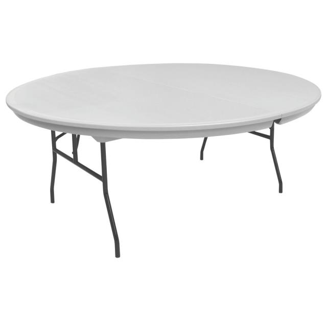 Where to rent TABLE PLASTIC FOLDING 60  RD in Baltimore Maryland, Washington DC, Columbia MD, Westminster, Annapolis MD