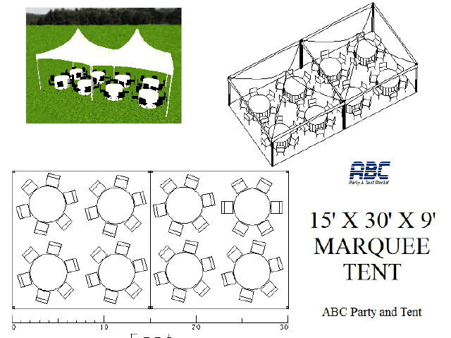 Where to rent MARQUEE TENT 15X30X9 in Baltimore Maryland, Washington DC, Columbia MD, Westminster, Annapolis MD