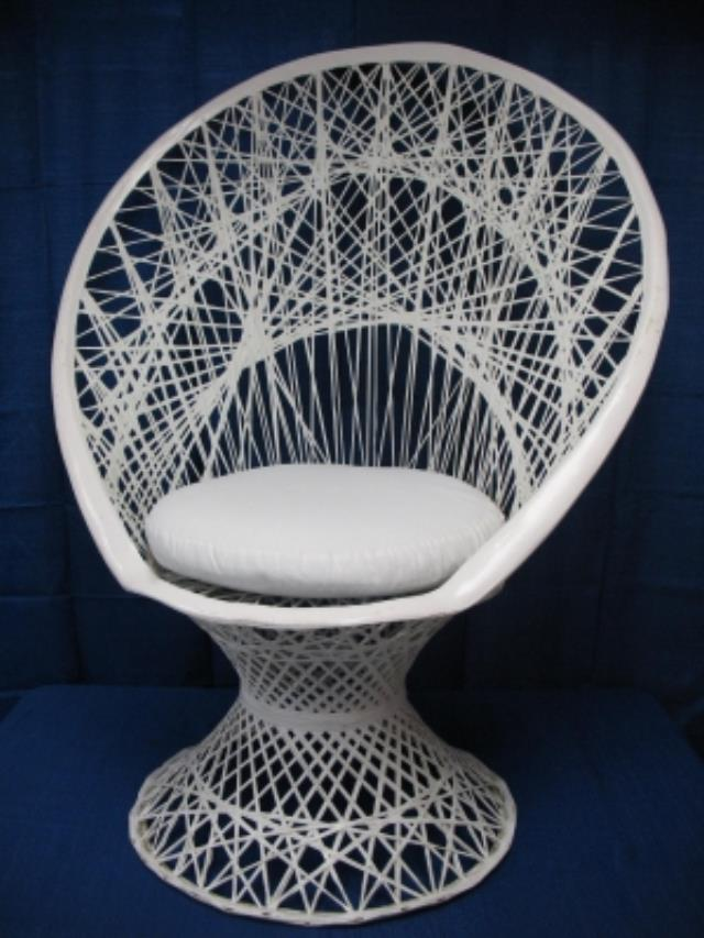 Where to rent WHITE WICKER CHAIR in Baltimore Maryland, Washington DC, Columbia MD, Westminster, Annapolis MD