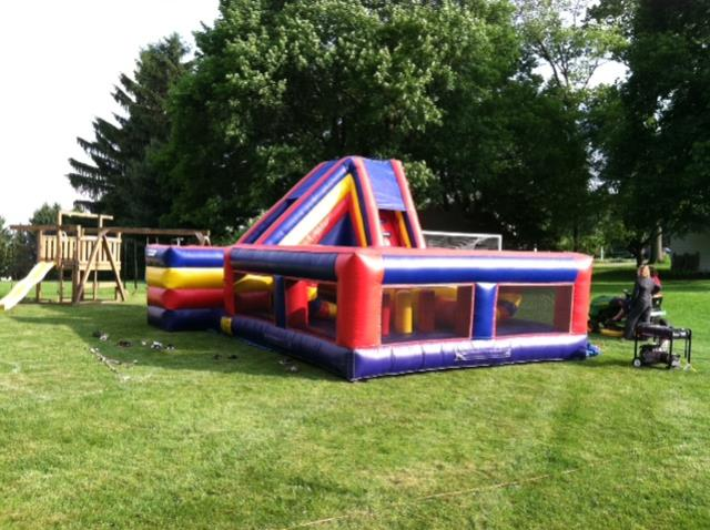 Where to rent SLIDE OBSTACLE COURSE INFLATABLE in Baltimore Maryland, Washington DC, Columbia MD, Westminster, Annapolis MD
