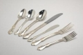 Where to rent VANESSA SILVER PLATED FLATWARE in Baltimore MD