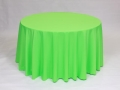 Rental store for NEON GREEN POLYESTER LINEN in Baltimore MD
