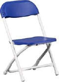 Where to rent KID CHAIR - BLUE in Baltimore MD