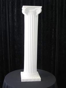 Where to rent ROMAN COLUMN WHITE 40 in Baltimore Maryland, Washington DC, Columbia MD, Westminster, Annapolis MD