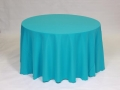 Rental store for TURQUOISE POLYESTER LINEN in Baltimore MD
