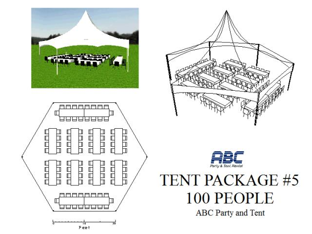 Where to rent TENT PACKAGE 5  100 PEOPLE in Baltimore Maryland, Washington DC, Columbia MD, Westminster, Annapolis MD