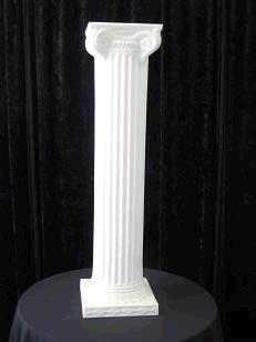 Where to rent ROMAN COLUMN WHITE 72 in Baltimore Maryland, Washington DC, Columbia MD, Westminster, Annapolis MD
