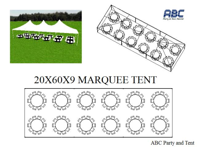 Where to rent MARQUEE TENT 20X60X9 in Baltimore Maryland, Washington DC, Columbia MD, Westminster, Annapolis MD
