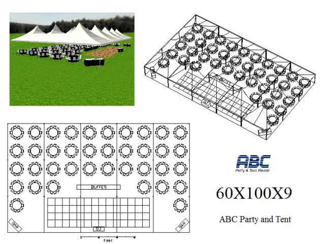 Where to rent MARQUEE TENT HYBRID 60X100X9 in Baltimore Maryland, Washington DC, Columbia MD, Westminster, Annapolis MD