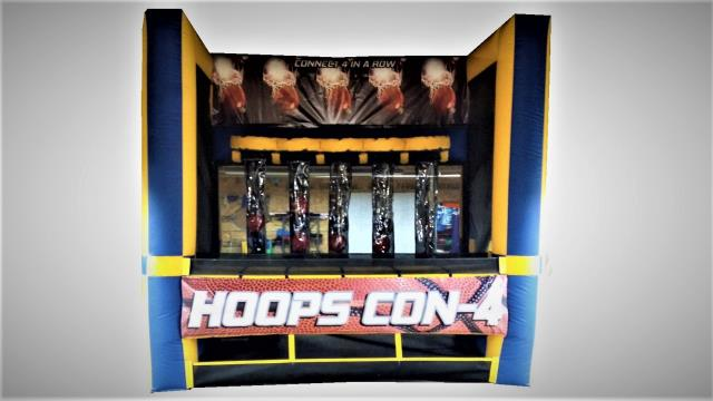 Where to rent HOOPS CONNECT 4 INFLATABLE GAME in Baltimore Maryland, Washington DC, Columbia MD, Westminster, Annapolis MD