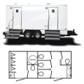 Where to rent PORTA RESTROOM - 18  TRAILER in Baltimore MD