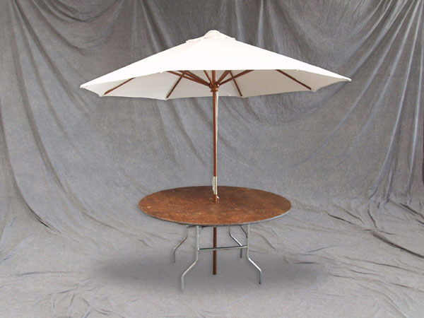 Where to rent TABLE UMBRELLA 60  W  UMBRELLA in Baltimore Maryland, Washington DC, Columbia MD, Westminster, Annapolis MD