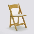 Where to rent WOOD FOLDING - NATURAL W PADDED SEAT in Baltimore MD