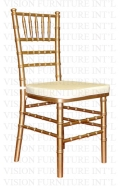 Where to rent CHIAVARI CHAIR - GOLD in Baltimore MD