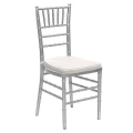 Where to rent CHIAVARI CHAIR - SILVER in Baltimore MD