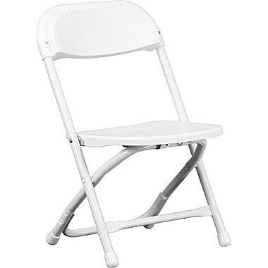 Where to rent KID CHAIR FOLDING - WHITE in Baltimore Maryland, Washington DC, Columbia MD, Westminster, Annapolis MD