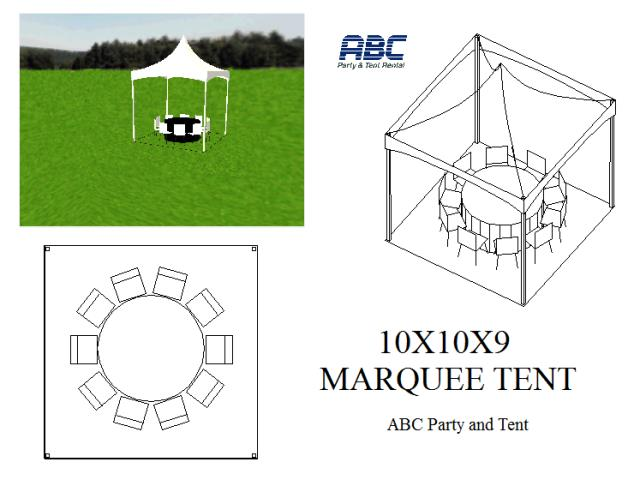 Where to rent MARQUEE TENT 10X10X9 in Baltimore Maryland, Washington DC, Columbia MD, Westminster, Annapolis MD