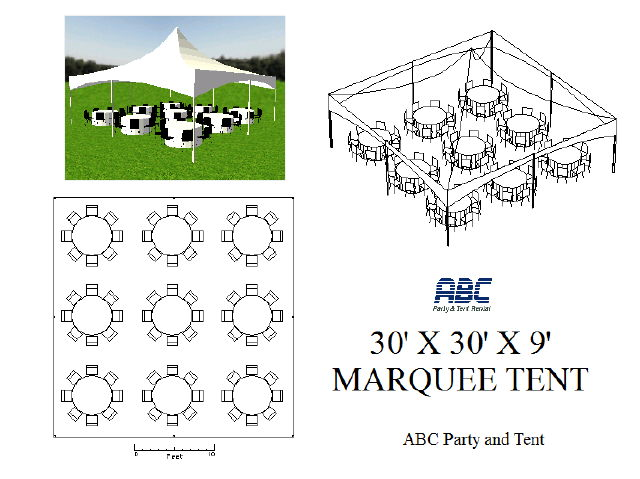Where to rent HIGH PEAK TENT 30X30X9 in Baltimore Maryland, Washington DC, Columbia MD, Westminster, Annapolis MD