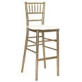 Where to rent BAR STOOL CHIAVARI GOLD in Baltimore MD