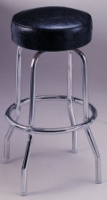 Where to rent BAR STOOL W  CHROME LEGS in Baltimore MD