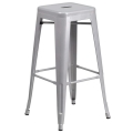 Where to rent BAR STOOL- SILVER in Baltimore MD