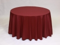 Rental store for BURGUNDY POLYESTER LINEN in Baltimore MD