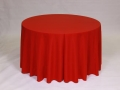 Rental store for HOLIDAY RED POLYESTER LINEN in Baltimore MD