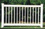 Where to rent FENCING WHITE PLASTIC 6X42 in Baltimore Maryland, Washington DC, Columbia MD, Westminster, Annapolis MD
