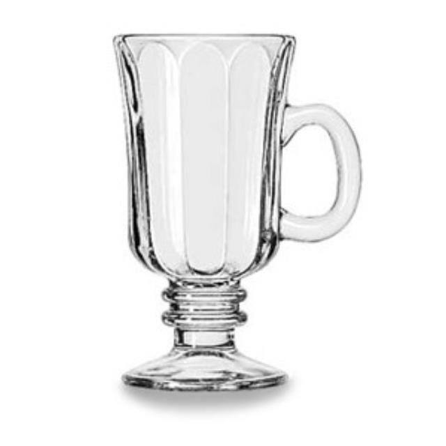 Where to rent GLASS IRISH COFFEE MUG in Baltimore Maryland, Washington DC, Columbia MD, Westminster, Annapolis MD
