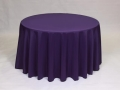 Rental store for PURPLE POLYESTER LINEN in Baltimore MD
