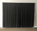 Where to rent PIPE   DRAPE 8 X10  BLACK in Baltimore MD