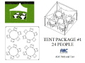 Where to rent TENT PACKAGE 1  24 PEOPLE in Baltimore MD