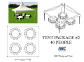 Where to rent TENT PACKAGE 2  40 PEOPLE in Baltimore MD
