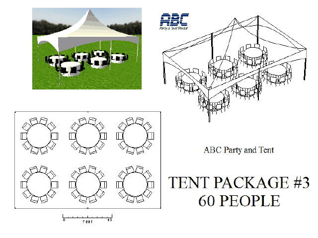 Tent Package 3 60 People Rentals Baltimore Md Where To