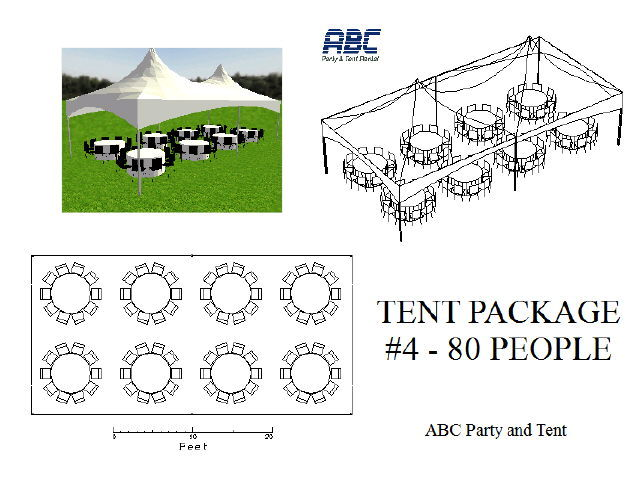 Where to rent TENT PACKAGE 4  80 PEOPLE in Baltimore Maryland, Washington DC, Columbia MD, Westminster, Annapolis MD
