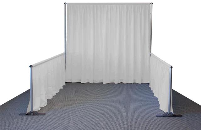 Where to rent PIPE   DRAPE BOOTH WHITE in Baltimore Maryland, Washington DC, Columbia MD, Westminster, Annapolis MD