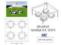 Where to rent MARQUEE TENT 20X20X9 in Baltimore MD