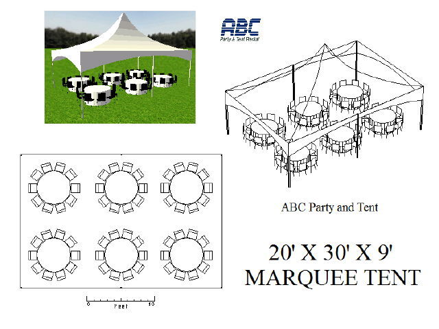 Where to rent MARQUEE TENT 20X30X9 in Baltimore Maryland, Washington DC, Columbia MD, Westminster, Annapolis MD