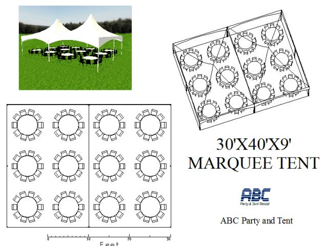 Where to rent MARQUEE TENT 30X40X9 in Baltimore Maryland, Washington DC, Columbia MD, Westminster, Annapolis MD